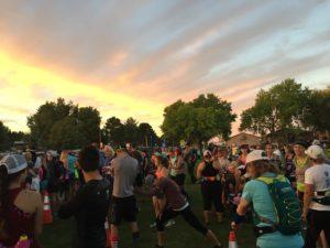 Sunrise Race Start!
