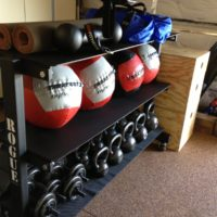 WOD: 1 mile Sandbag Run, Toes-to-Bar, Wall-balls