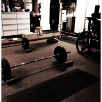 WOD: Run, Deadlift, Squat Clean, Push Jerk, Pull-Up, Toes-to-Bar