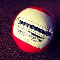 WOD: GHD Medicine Ball, Wall Ball (2 for 1)